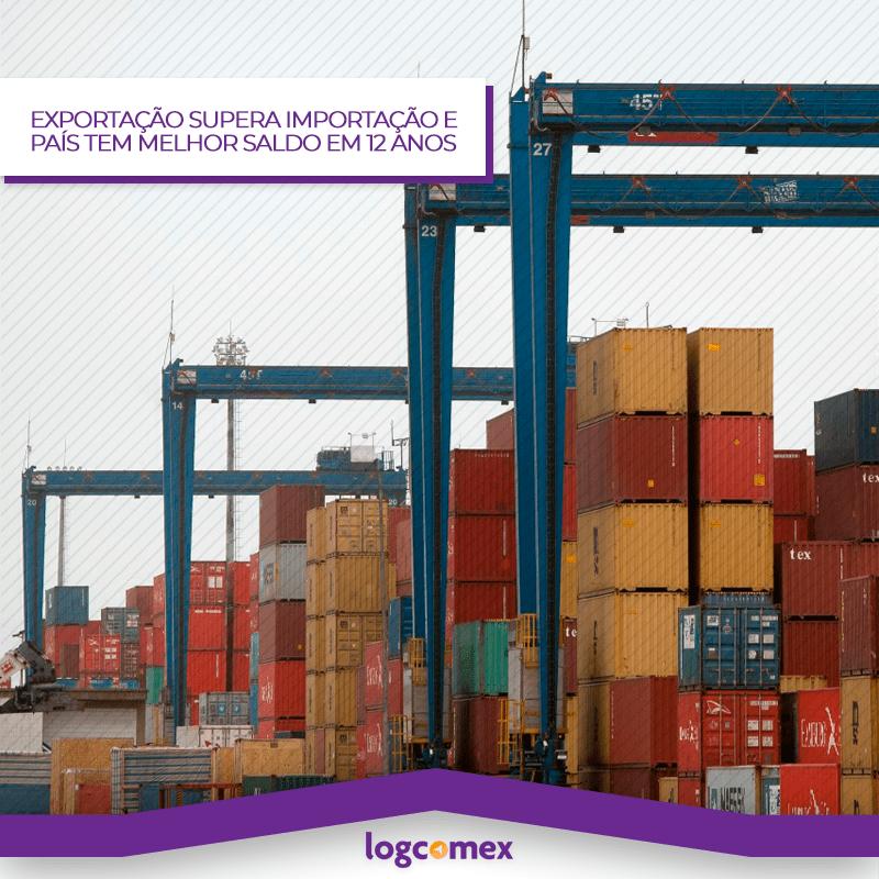 Exportação supera Importação e país tem melhor saldo para janeiro em 12 anos.