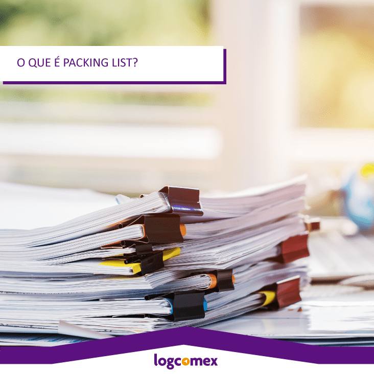 O que é packing list?