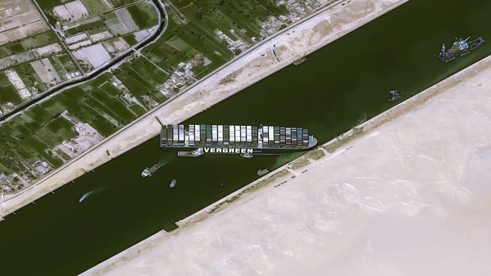 Bloqueio do Canal de Suez