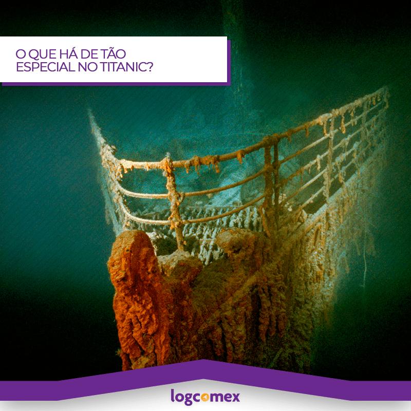 O que há de tão especial sobre o RMS Titanic?