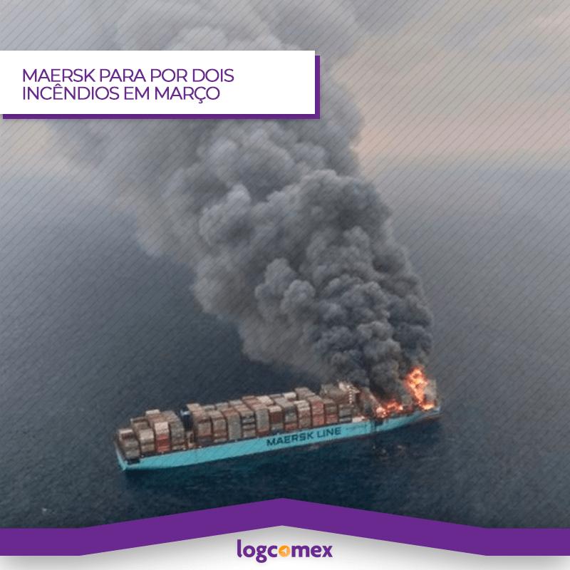 Incêndios voltam atenção ao transporte de cargas perigosas.