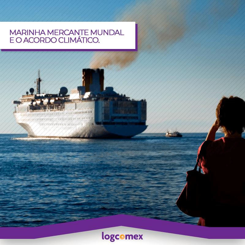 Marinha Mercante mundial vez mais próxima de grande acordo climático