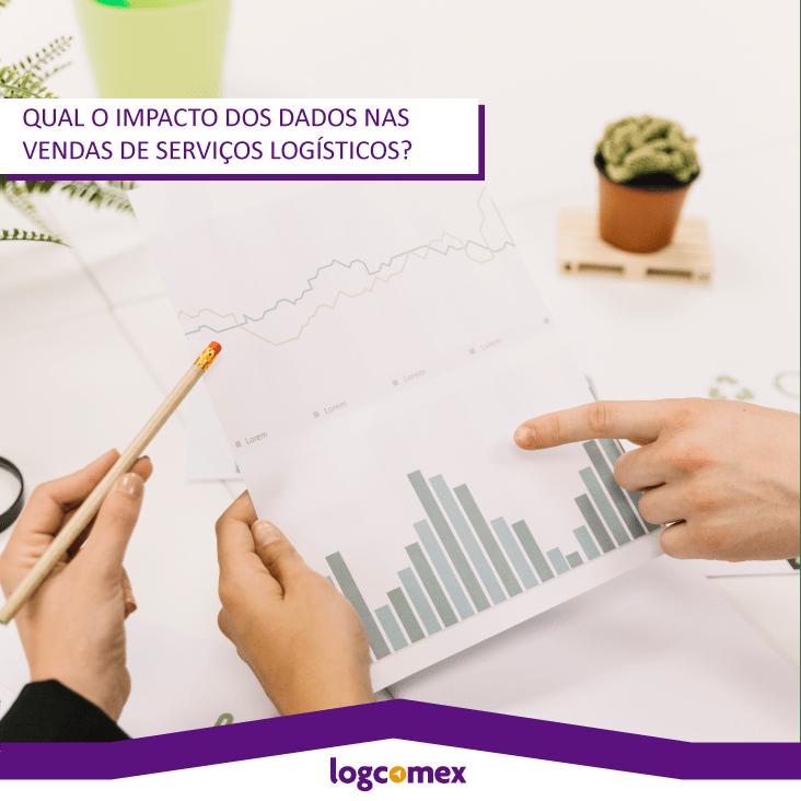 Qual o impacto dos dados nas vendas de serviços logísticos?