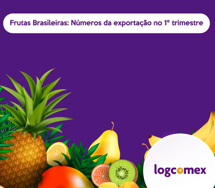 Frutas brasileiras: números de exportação no primeiro trimestre do ano