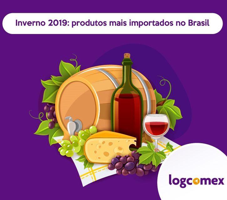 Inverno 2019: produtos mais importados no Brasil