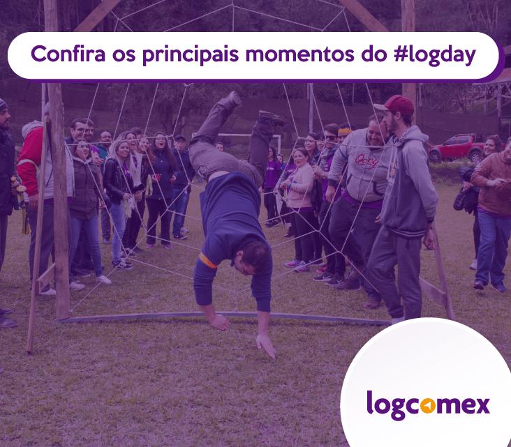 Confira os principais momentos do #LogDay