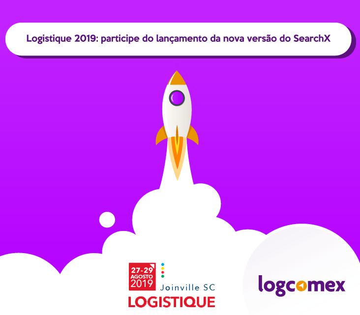 Logistique 2019: participe do lançamento da nova versão do SearchX